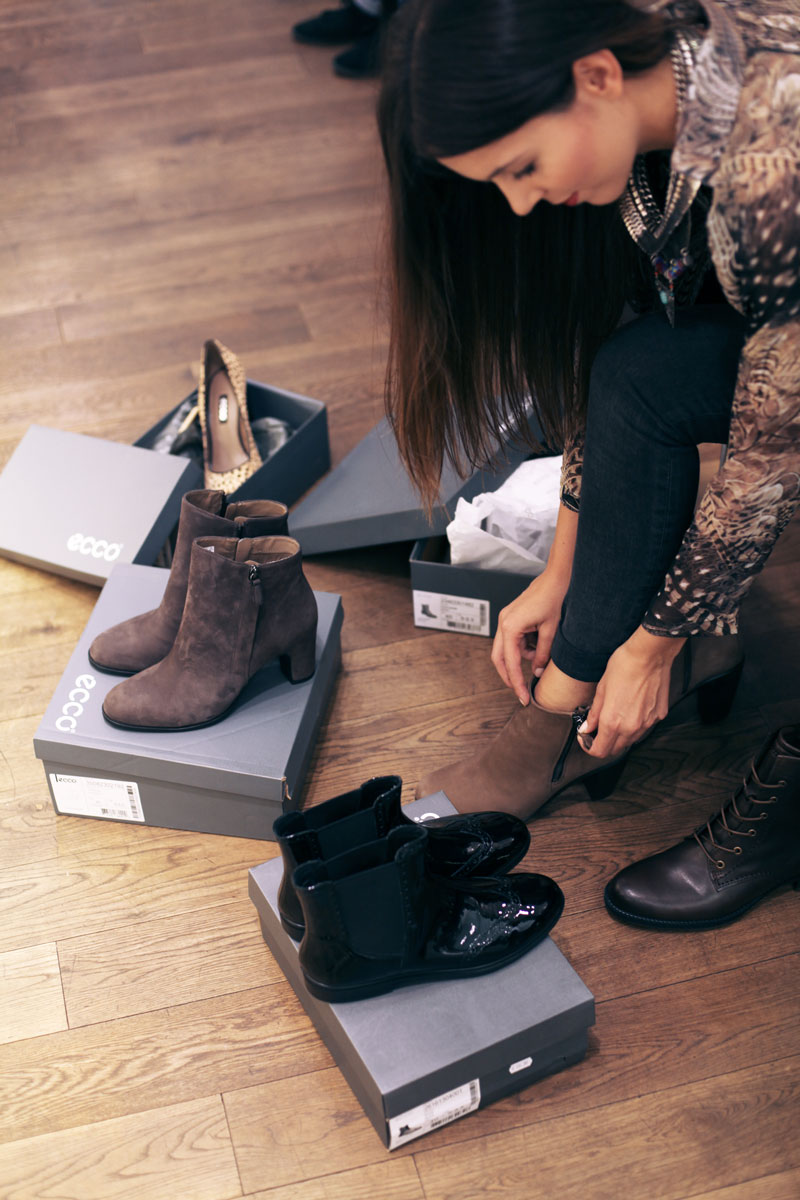 ecco shoes roma
