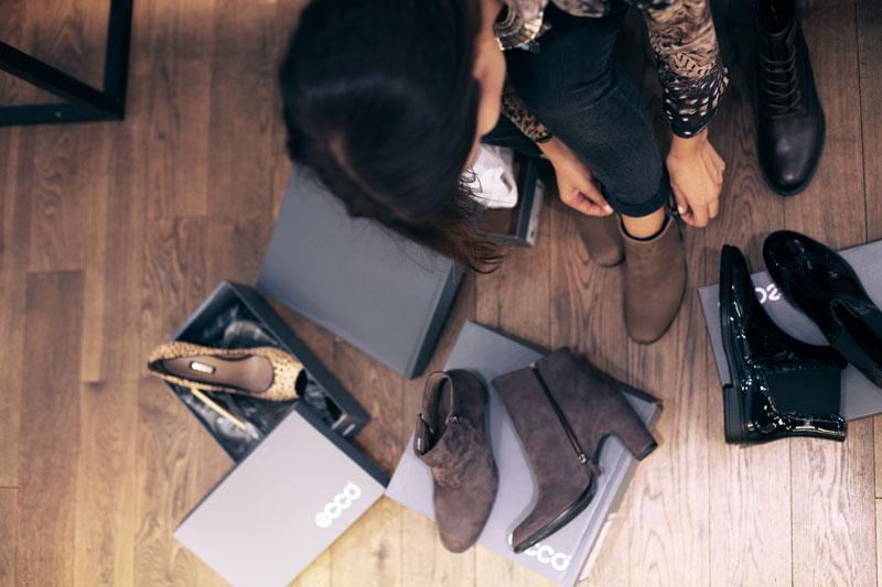 shopping scarpe