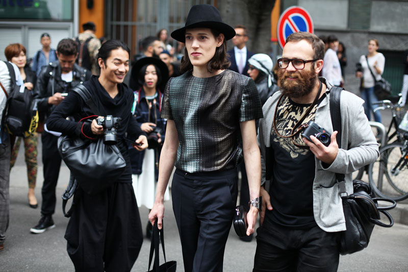 streetstyle milano fashion week 2014
