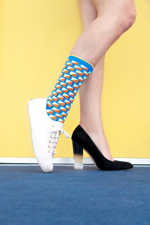 Calzini e tacchi, stivali e calzettoni: istruzioni per l'uso!
