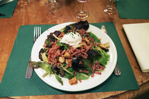 insalata alla lionnese
