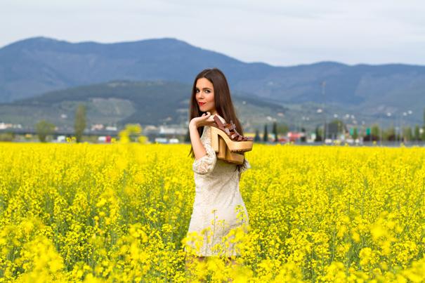Un mare di fiori gialli