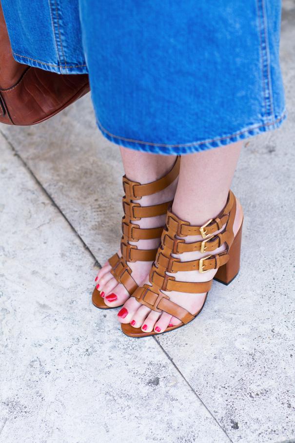 sandali con il tacco