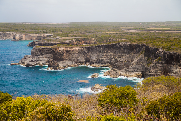 cliff guadeloupe