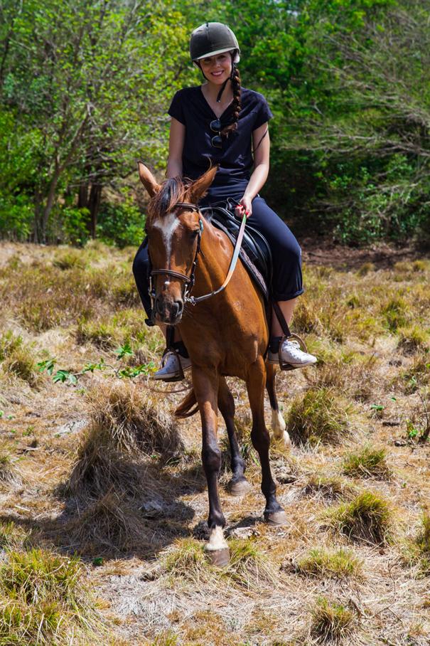 gita a cavallo isole di guadalupe