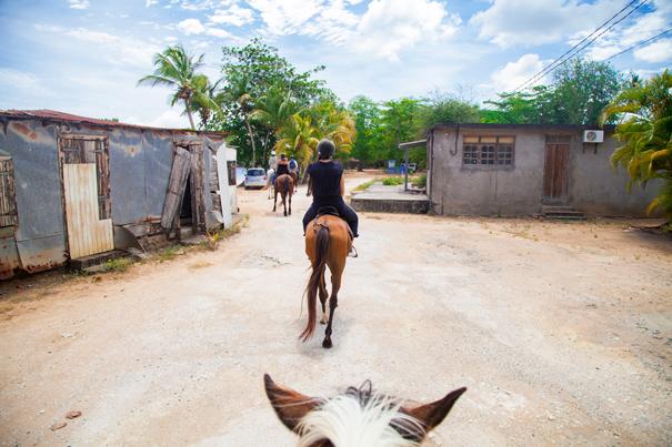 gita a cavallo