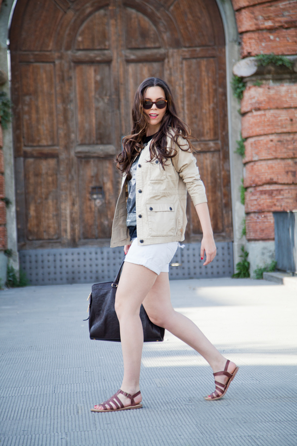 Shorts per la primavera