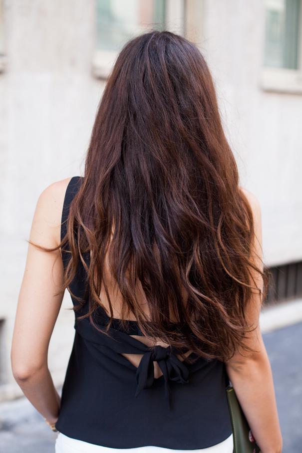 hair wavy no iron