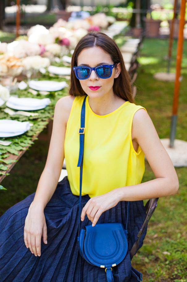 maglia gialla outfit