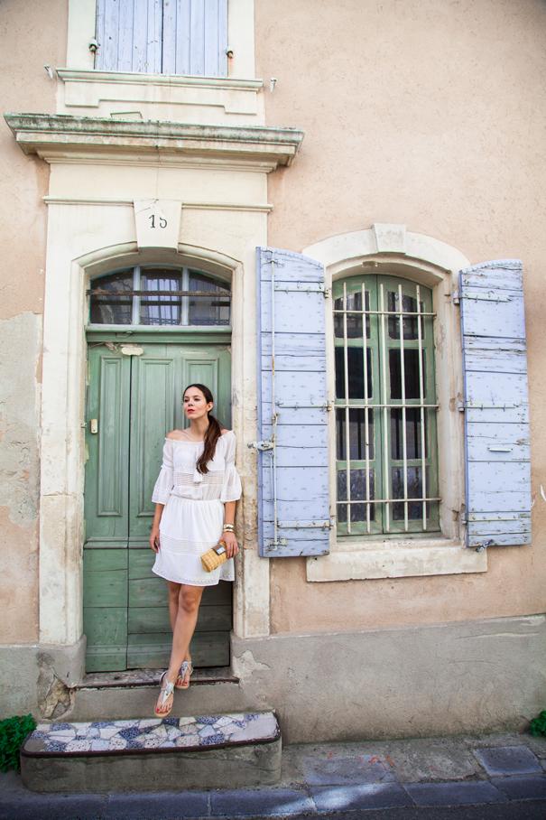 little white dress look