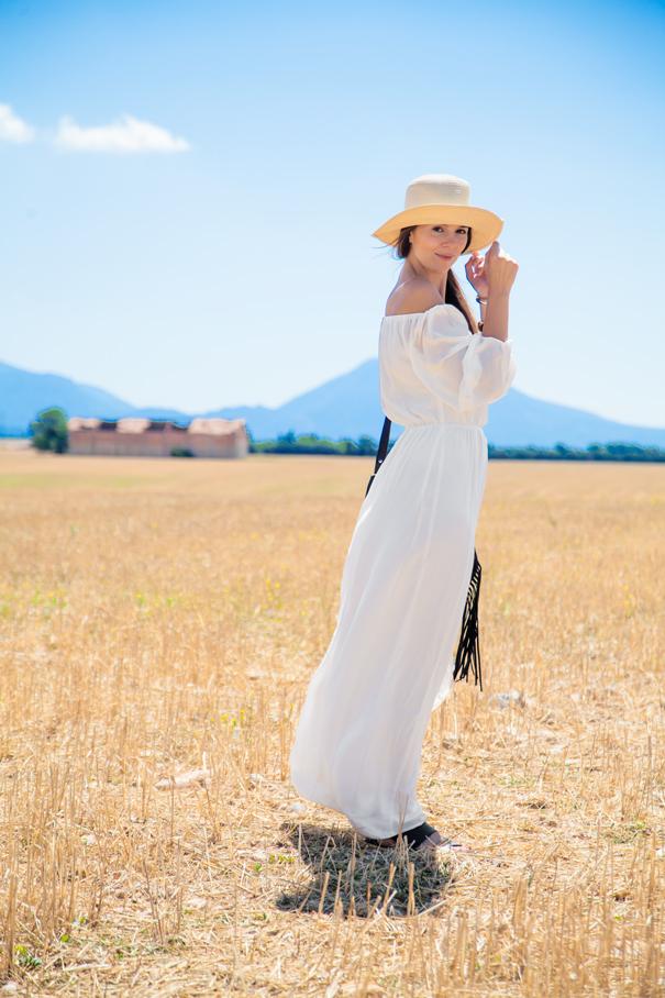 vestito bianco estate