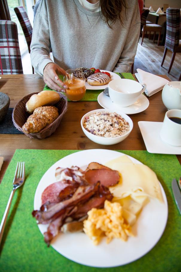 colazione hotel austria