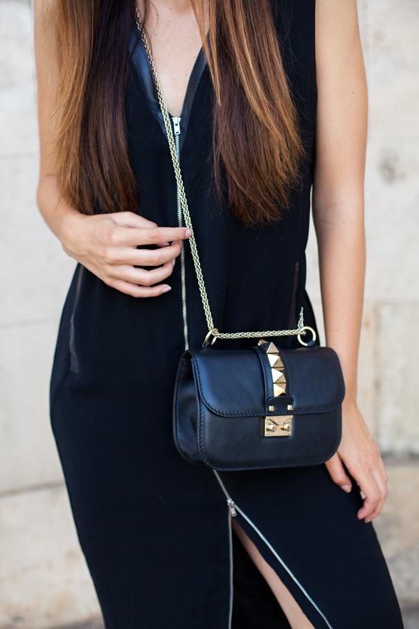 vestito nero outfit