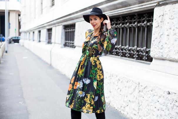 vestito a fiori