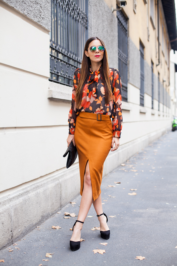 outfit skirt inverno