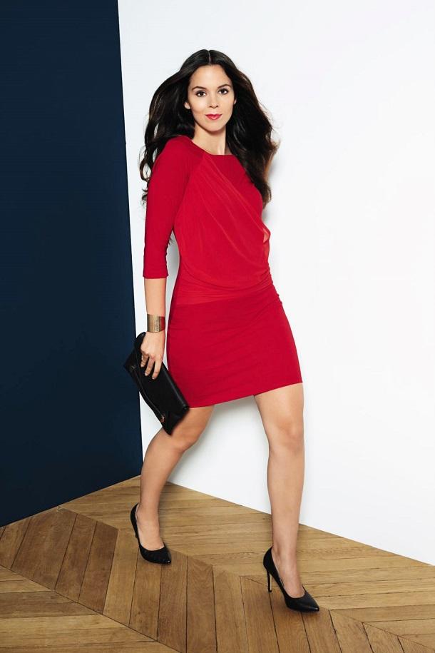 abito rosso kiabi