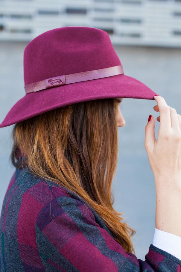 cappello borsalino come portare