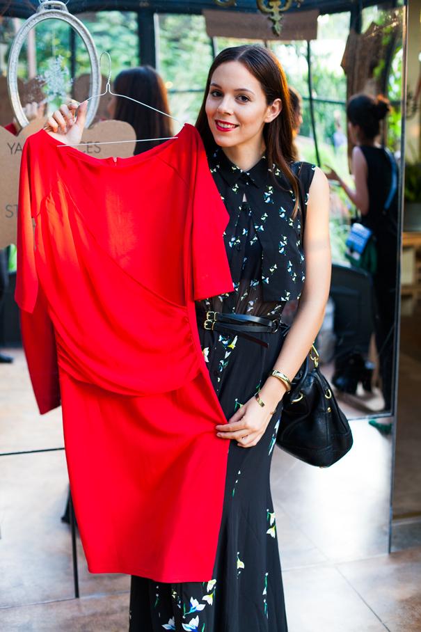 vestito rosso kiabi