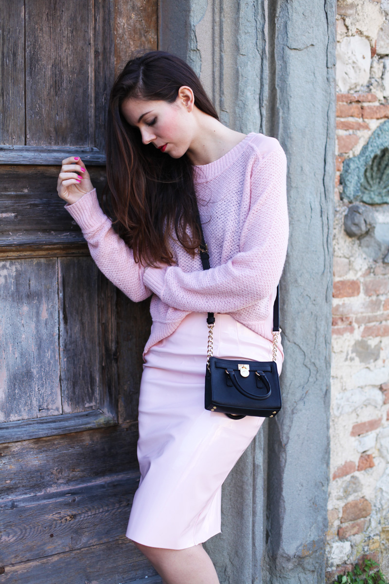 outfit rosa