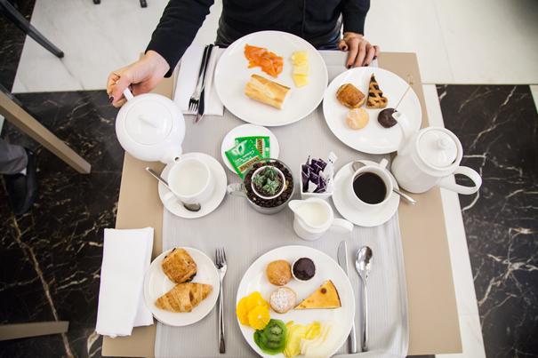 colazione in hotel