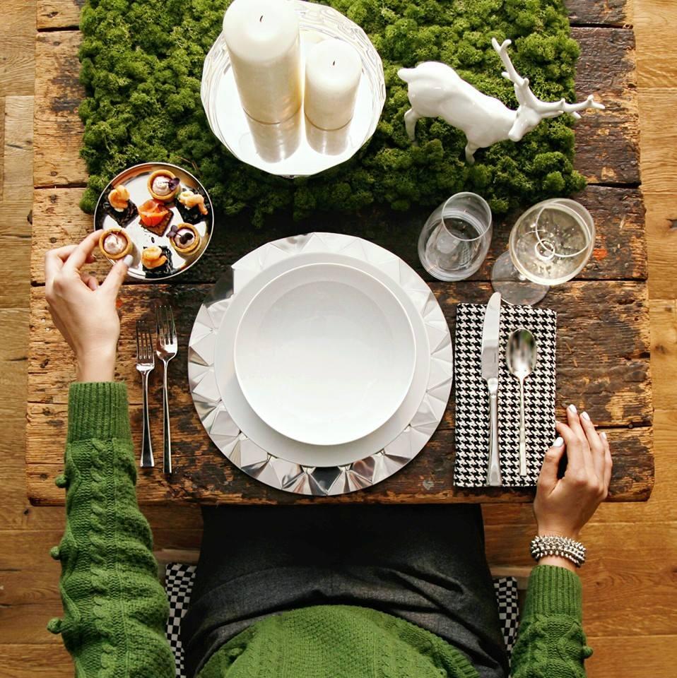 tavola per natale