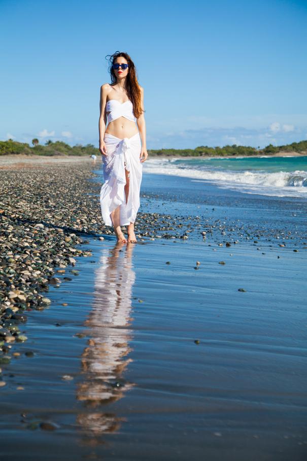 spiaggia selvaggia caraibi