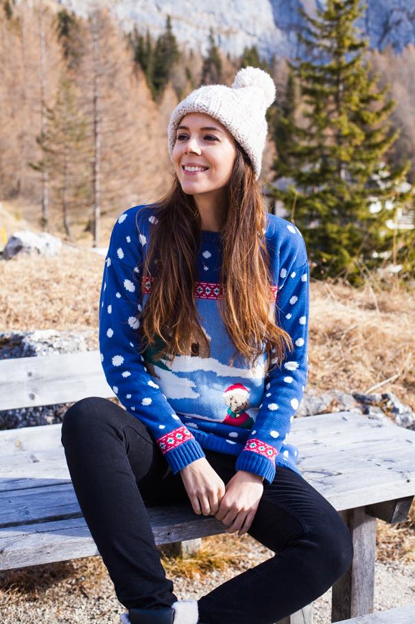 maglione per la montagna