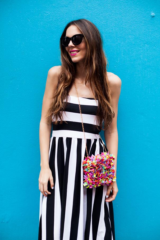 outfit estate bianco e nero