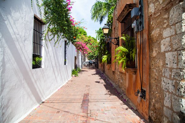 santo domingo via