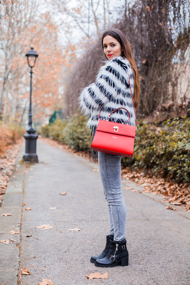 come indossare eco pelliccia