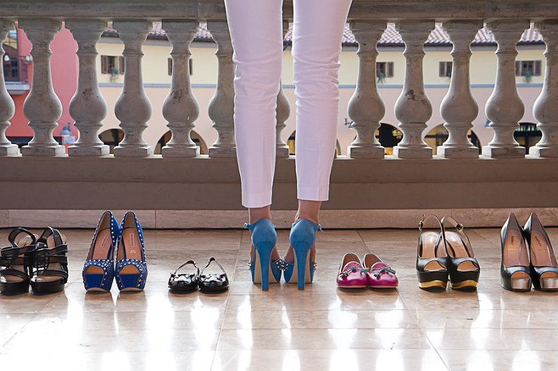 How to wear high heels for a long time