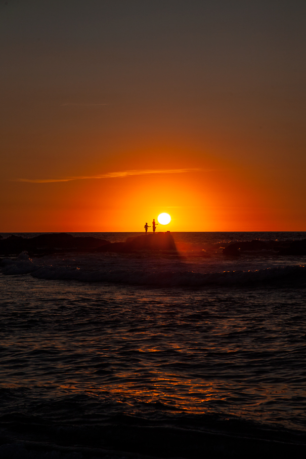 tramonto costa rica