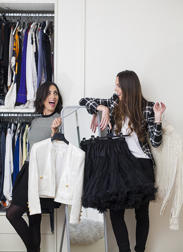 caterina balivo and irene colzi in caterina's wardrobe (1)