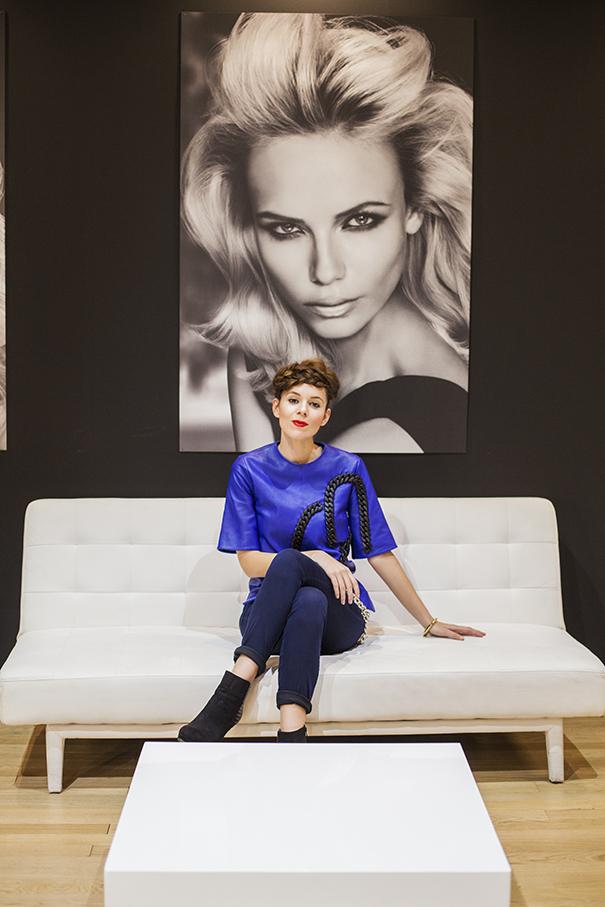 Irene Colzi hairstyle