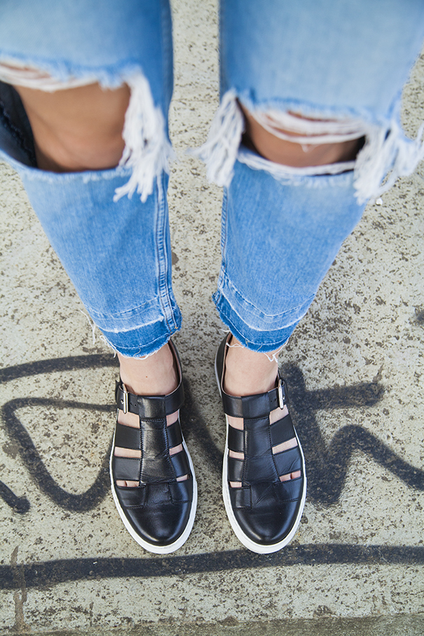 Scarpe ragnetto o jelly shoes