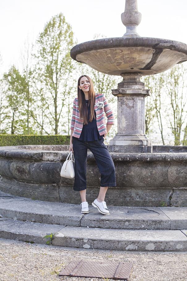 culotte di jeans