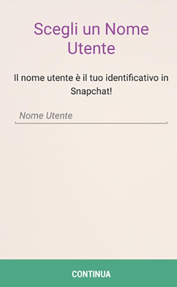 foto registrazione snapchat