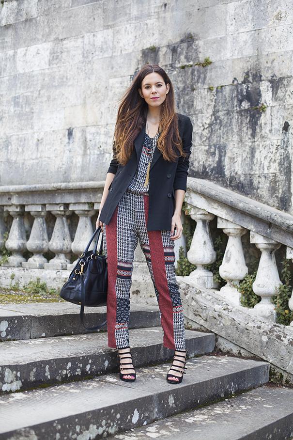 outfit casual con tuta