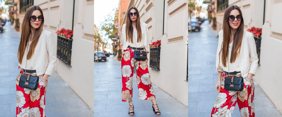 pantaloni-rossi-floreali