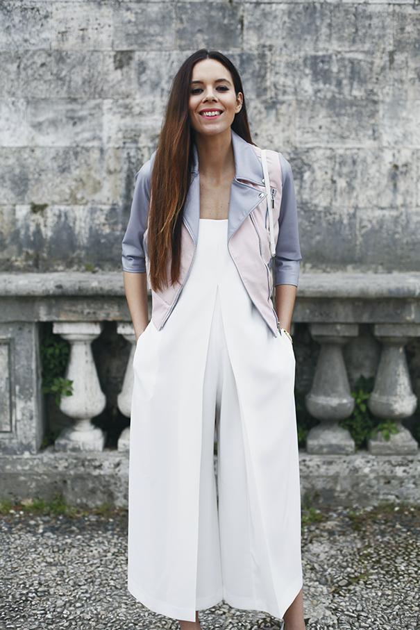 tuta bianca e giacca