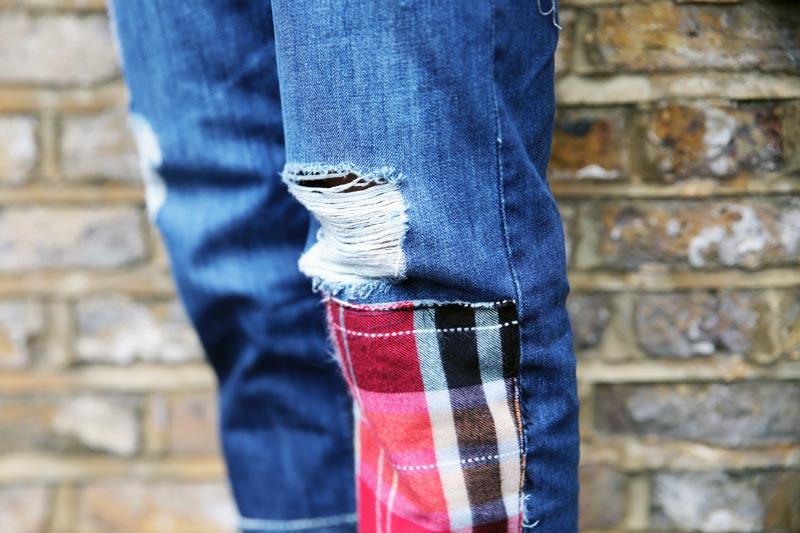 personalizzare il jeans