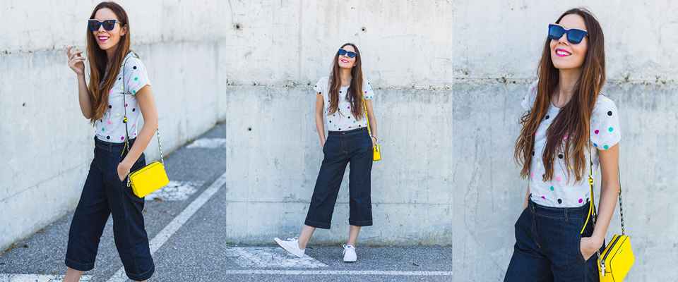 maglietta-pois-e-pantaloni-culotte