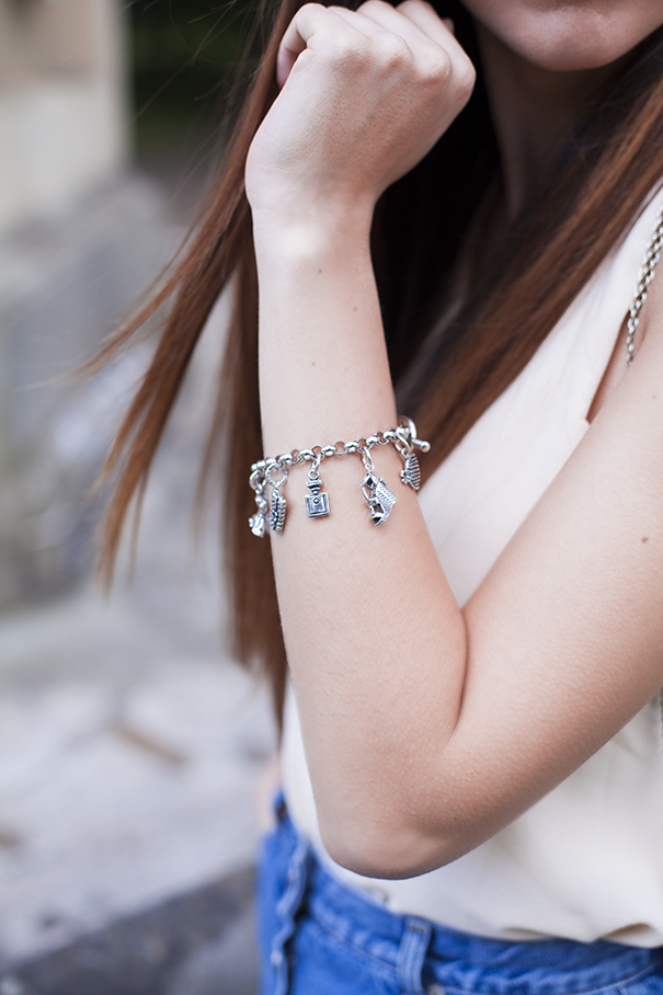 Bracciali con charms raspini gioielli