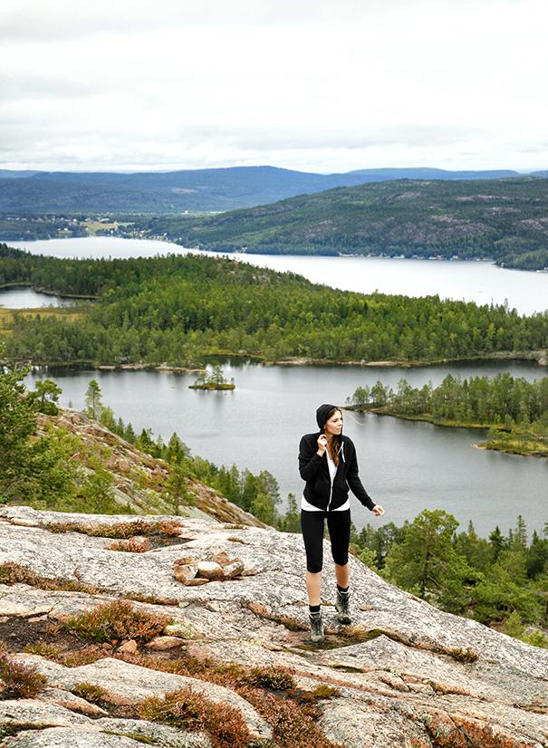trekking in svezia | costa alta trekking | panorama svedese