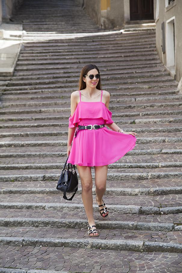 abito fucsia estivo | outfit estate