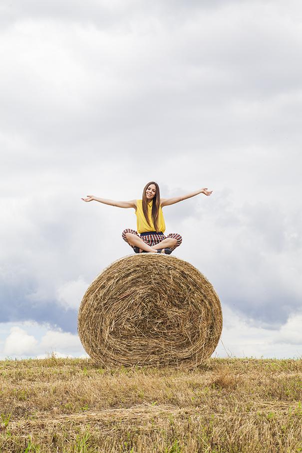 outfit camicia gialla | Come vestirsi in campagna