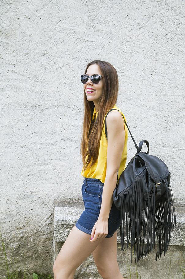 outfit estivo camicia gialla (3)