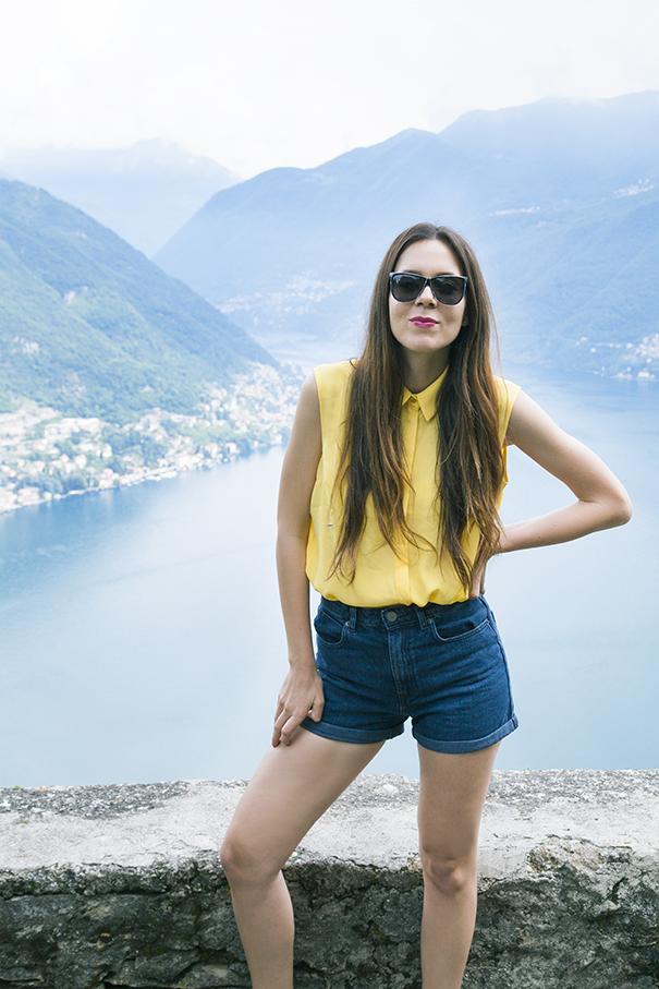 outfit estivo camicia gialla (5)