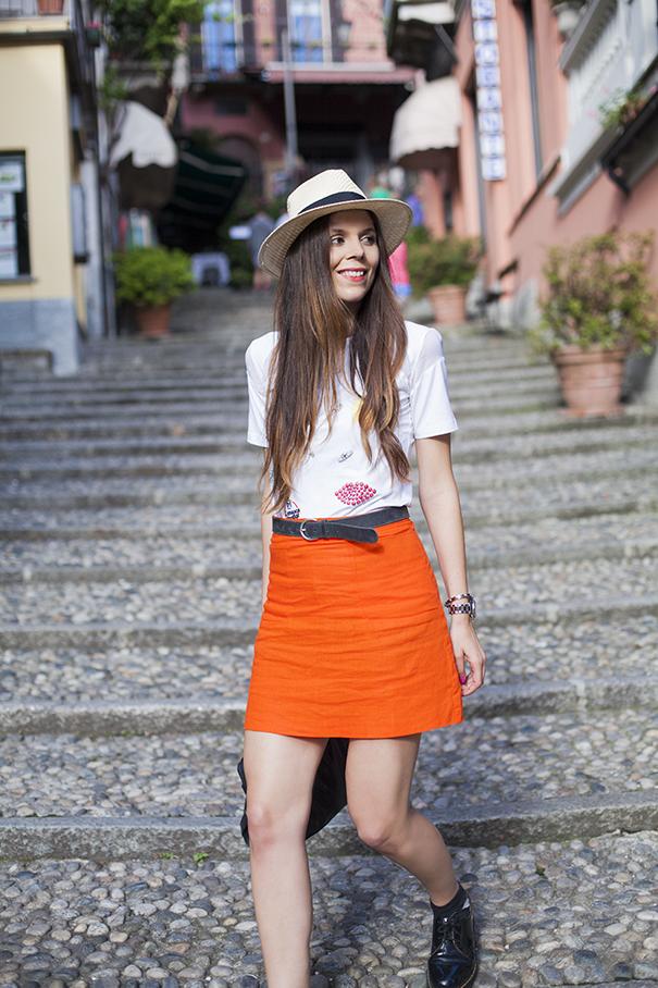 outfit gonna arancione (4)
