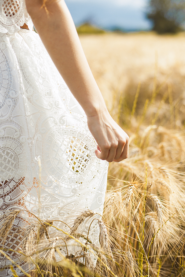 vestito bianco OVS